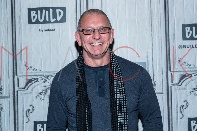 """Chef Robert Irvine visits the BUILD Series to discuss the Food Network series """"Restaurant: Impossible"""", New York, USA"""