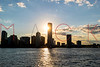 View of the New Jersey Skyline from the Hudson River, Hoboken, USA