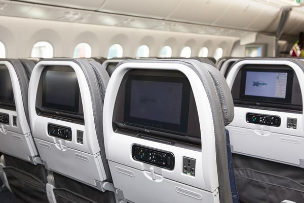 Boeing 100th Dreamliner interior Feb 2016