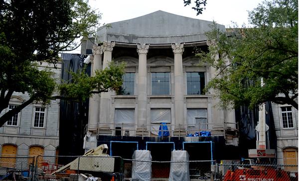 Gaillard Center construction
