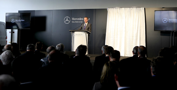 Mercedes-Benz Van plant annoucement