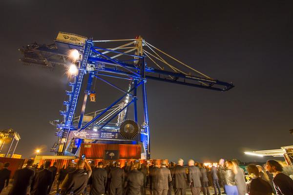 Port Crane Commissioning Nov 2016