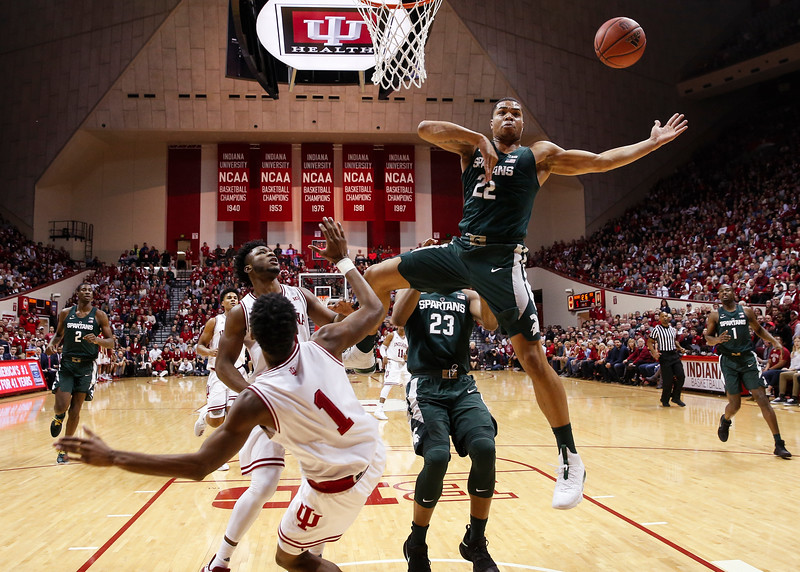 BLOOMINGTON, IN - 2018.02.03 - Men's Basketball vs. Michigan State