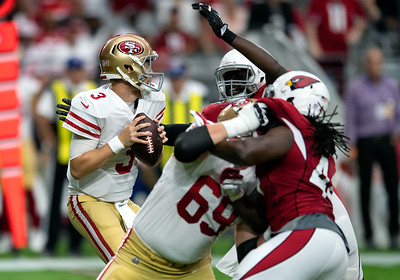 NFL: OCT 28 49ers at Cardinals