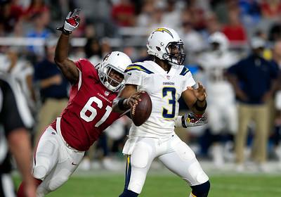 NFL: AUG 11 Preseason - Chargers at Cardinals
