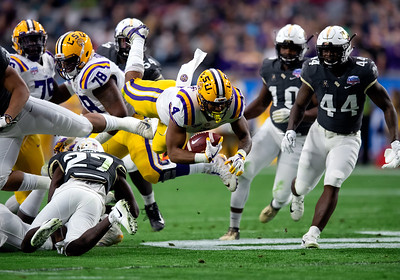 COLLEGE FOOTBALL: JAN 01 Fiesta Bowl - LSU v UCF