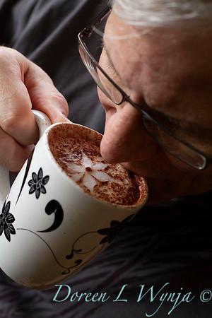 drinking a fancy latte_3422