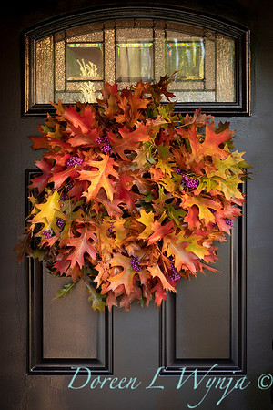 Fall wreath - front door_7389