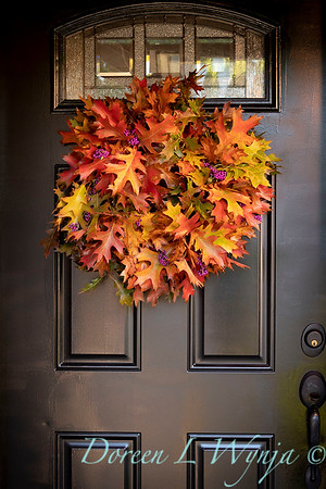 Fall wreath - front door_7383