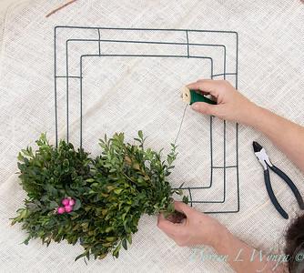 How to make a wreath_906