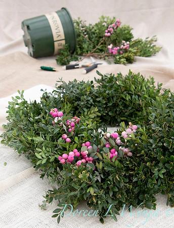 How to make a wreath_911