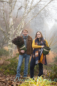 Justin & Megan with red and gold plant pick_1136