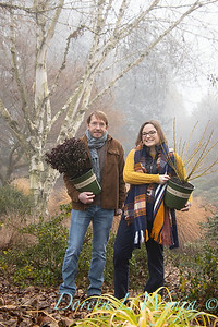 Justin & Megan with red and gold plant pick_1138