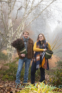 Justin & Megan with red and gold plant pick_1137