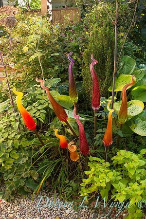 Blown glass garden art_9845