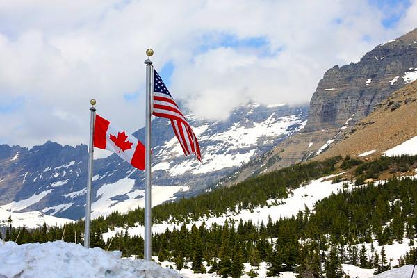 Montana/Alberta - Glacier/Waterton National Park