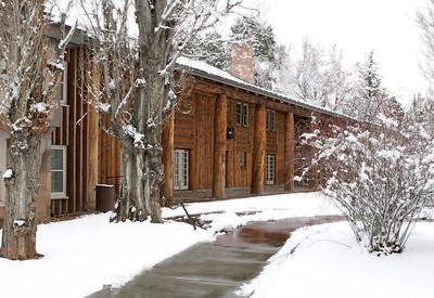 Historic Fuller Lodge, Los Alamos, New Mexico