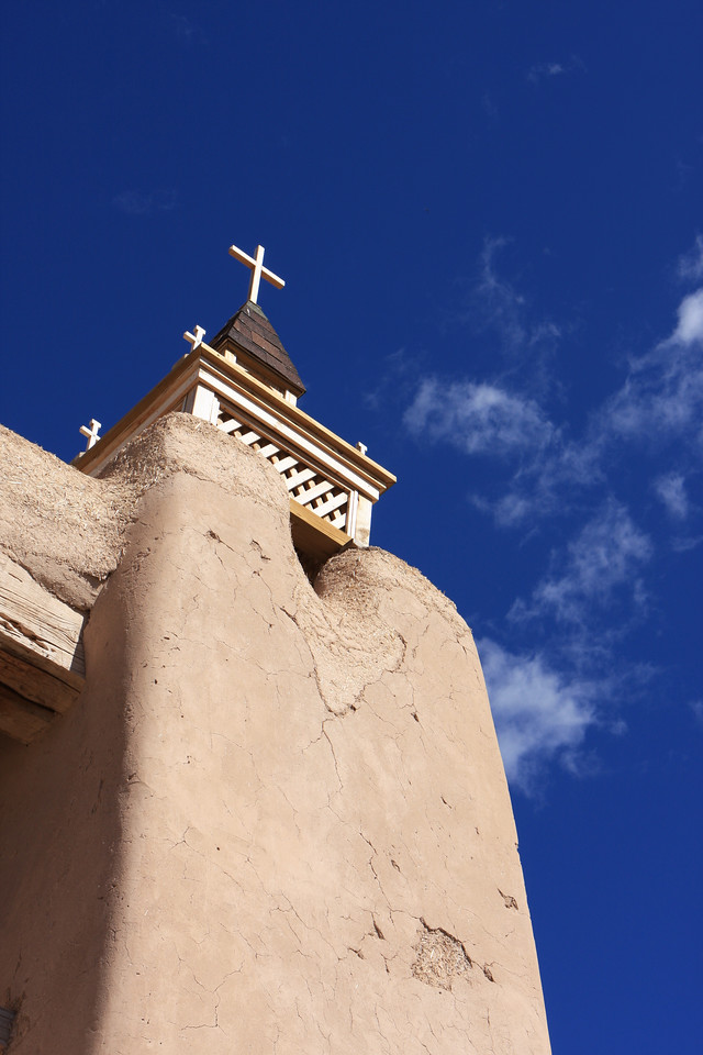 San Jose de Gracia de Las Trampas Mission Church, New Mexico