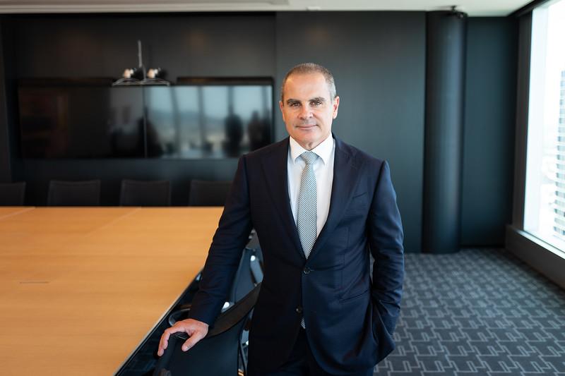 Jamie Pherous MD Corporate Travel Management. 31 October 2018, Brisbane. Photo: Attila Csaszar