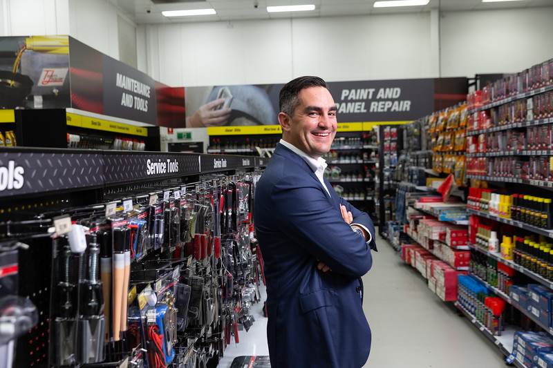 Anthony Heraghty CEO, Supercheap Auto, 22 Jan 2019, Brisbane. Photo: Attila Csaszar