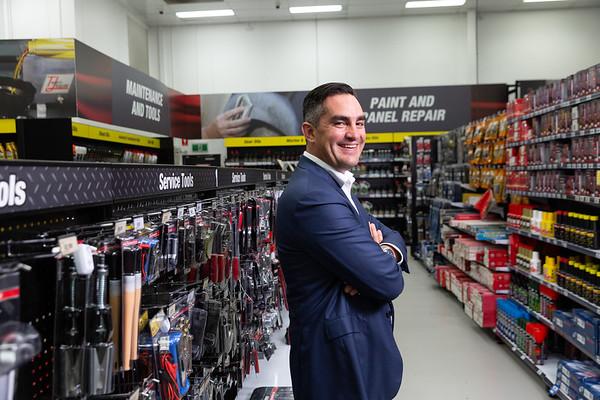 Anthony Heraghty CEO, Supercheap Auto, 22 Jan 2019, Brisbane. Photo: Attila Csaszar