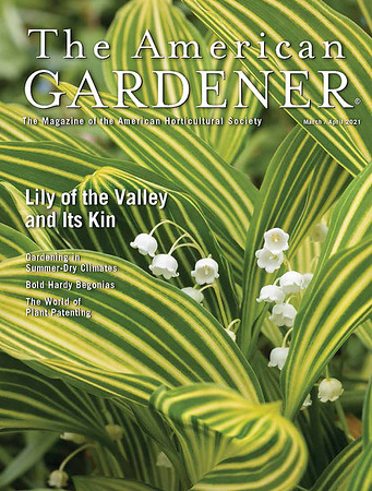 The American Gardener Cover March:April 2021
