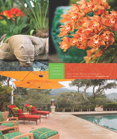 Full page ad in Marin magazine for Living Green Design in the Bay area