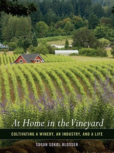 BOOK COVER 'At Home in the Vineyard' by Susan Sokol Blosser