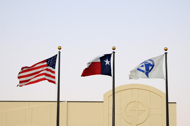 Campus life at Trinity Christian Academy in Addison, Texas on November 3, 2011.