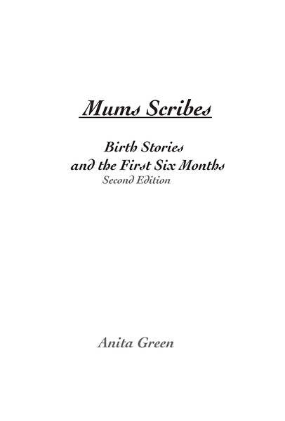Mums Scribes_Blurb Cover Ed2.indd