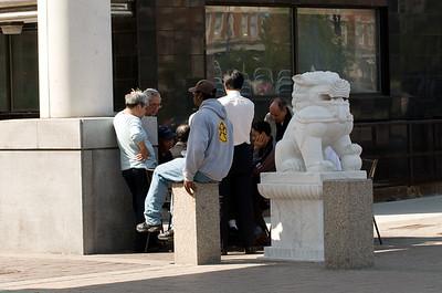 Chinatown & Chinese Chess Players