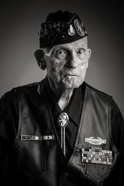 Bataan Death March/Corregidor Island survivor- WWII POW of the Japanese Imperial Army. Megan Bearder Photography