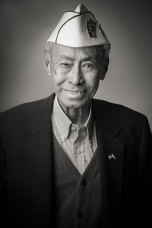 Filipino Bataan Death March survivor Jesse Baltazar