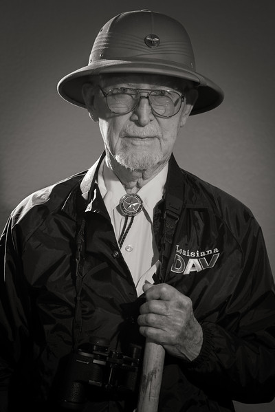 Bataan Death March survivor James Bollich.