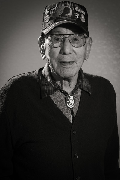 Bataan Death March survivor Valdemar DeHerrera
