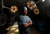 9/26/11 Boston, MA -- Advance for Health Science. Portrait of Dr. Bohdan Pomahac in the operating room at Brigham and Women's Hospital September 26. 2011.  Erik Jacobs for the Boston Globe