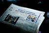 12/6/07 Boston, MA -- Gregory Brin's Russian newspaper Thursday December 6, 2007.  Erik Jacobs for the Boston Globe