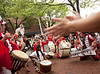 10/1/11 Somerville, MA -- Members of the Extraordinary Rendition Band perform for the crowd during the sixth annual HONK! Festival in Somerville, Mass. October 1, 2011.  Erik Jacobs for the Boston Globe