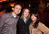 """10/23/11 Boston, MA -- From left, Russ and Lisa Mezikofsky of Haverhill and Jessie Saenz of New York City at Red Lantern in Boston to celebrate the launch of Style Network's new reality series, """"Wicked Fit,"""" October 23, 2011.  The cast & crew of the show gathered together with family and friends to watch  the series premiere, which documents series star & Taunton native Katie Boyd's success as a former Boston-area beauty-queen-turned-personal-pageant-trainer and owner of Katie Boyd's Miss Fit Club, located in Wellesley, Mass.  Erik Jacobs for the Boston Globe"""