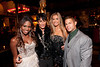 """10/23/11 Boston, MA -- From left, cast members Sola Okenla, Omid Maxey, Monica Pietrzak and Markus Ricci at Red Lantern in Boston celebrate the launch of Style Network's new reality series, """"Wicked Fit,"""" October 23, 2011.  The cast & crew of the show gathered together with family and friends to watch  the series premiere, which documents series star & Taunton native Katie Boyd's success as a former Boston-area beauty-queen-turned-personal-pageant-trainer and owner of Katie Boyd's Miss Fit Club, located in Wellesley, Mass.  Erik Jacobs for the Boston Globe"""