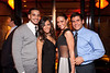 """10/23/11 Boston, MA -- From left, Hector Gomez and Allison DeJesus, both of Worcester and Ashley Amendola and Joe Ramos, both of New Haven CT at Red Lantern in Boston to celebrate the launch of Style Network's new reality series, """"Wicked Fit,"""" October 23, 2011.  The cast & crew of the show gathered together with family and friends to watch  the series premiere, which documents series star & Taunton native Katie Boyd's success as a former Boston-area beauty-queen-turned-personal-pageant-trainer and owner of Katie Boyd's Miss Fit Club, located in Wellesley, Mass.  Erik Jacobs for the Boston Globe"""