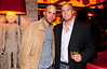 """10/23/11 Boston, MA -- From left, Shawn Manning of Quincy and Joe Hassell of Boston at Red Lantern in Boston to celebrate the launch of Style Network's new reality series, """"Wicked Fit,"""" October 23, 2011.  The cast & crew of the show gathered together with family and friends to watch  the series premiere, which documents series star & Taunton native Katie Boyd's success as a former Boston-area beauty-queen-turned-personal-pageant-trainer and owner of Katie Boyd's Miss Fit Club, located in Wellesley, Mass.  Erik Jacobs for the Boston Globe"""
