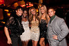 """10/23/11 Boston, MA -- From left, cast members, Omid Maxey, Sola Okenla, Monique Jones, Monica Pietrzak and Markus Ricci at Red Lantern in Boston celebrate the launch of Style Network's new reality series, """"Wicked Fit,"""" October 23, 2011.  The cast & crew of the show gathered together with family and friends to watch  the series premiere, which documents series star & Taunton native Katie Boyd's success as a former Boston-area beauty-queen-turned-personal-pageant-trainer and owner of Katie Boyd's Miss Fit Club, located in Wellesley, Mass.  Erik Jacobs for the Boston Globe"""