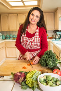 Farm Fresh to You chef Theresa St. Clair photographed for the May-June 2017 edition of Edible Sacramento