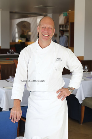 Serge Dansereau, chef and owner of The Bathers Pavilion, Balmoral