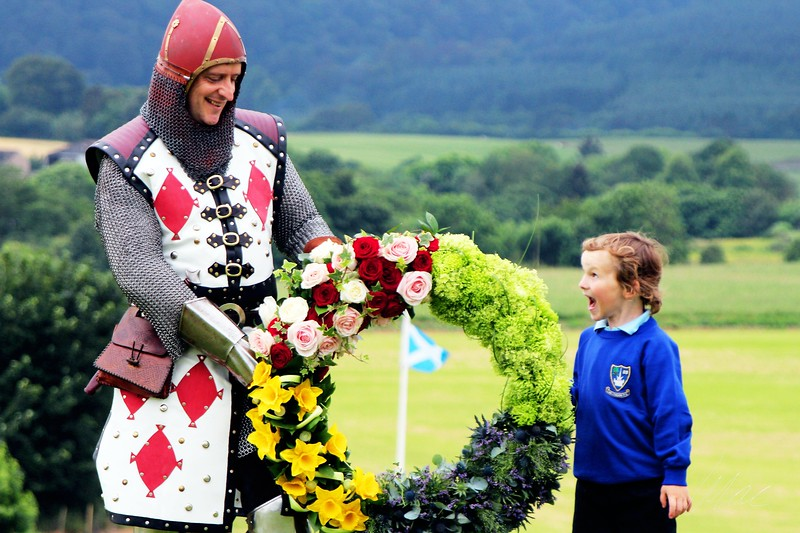24/06/2014 - The 700 year anniversary of the Scottish victory in Bannockburn