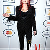 Cyndi Lauper red carpet Grammys Awards ©2014 Image and Style Magazine and CBS Broadcasting, Inc. All Rights Reserved edit
