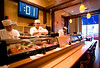 12/27/07 Boston, MA -- The sushi bar at Yoki, a new sushi restaurant in Medford,  MA Thursday December 27, 2007.  Erik Jacobs for the Boston Globe