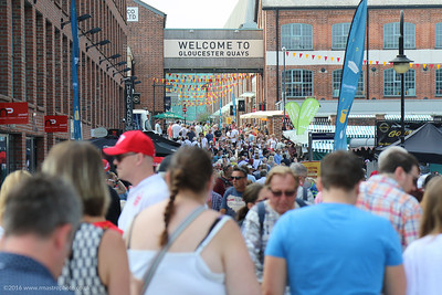 Gloucester Quays Food Festival 2016