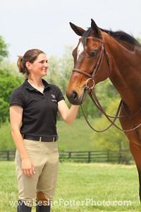 Bay Sport Horse and Owner